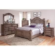 American Woodcrafters Bunk Beds American Woodcrafters Heirloom Weathered 5 Bedroom Set