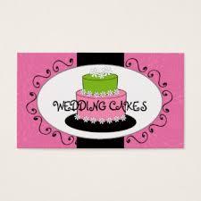 Wedding Decor Business Cards Wedding Cake Business Cards U0026 Templates Zazzle