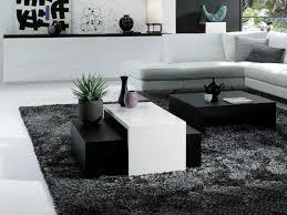 minimalist black and white coffee table eva furniture