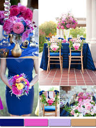 purple and blue wedding classic royal blue wedding color ideas and bridesmaid dresses