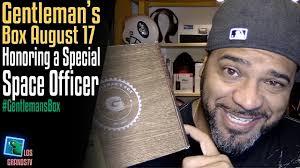 gentleman s gentleman s box august 2017 lgtv review youtube