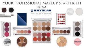your professional makeup starter kit with kryolan makeup youtube