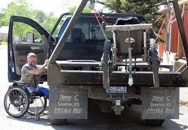 Hydra Bed James Daniels Loads His Off Road Wheelchair Gazoutdoors Blog