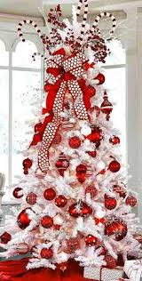 White Christmas Decorations 2015 by White Christmas Tree With Red And Gold Decorations U2013 Happy Holidays