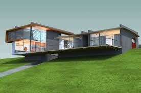 steep hillside house plans house plans built into the ground designs