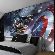 great bedrooms great bedrooms with captain america wallpaper cozy kids bedroom
