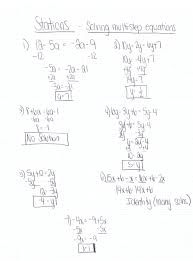 Worksheet Word Equations Math Multi Step Equation Word Problems With Variables On Both