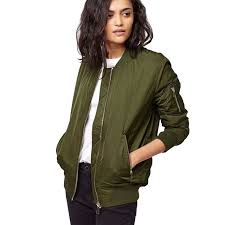 light bomber jacket womens new arrival women s basical classic solid color stand collar light