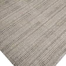 braided wool flat weave area rug braided wool area rugs grey solid