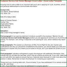 13 customer service call center cover letter applicationsformat info