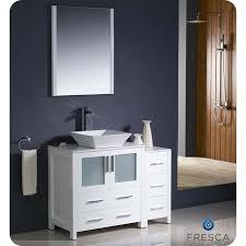 42 Bathroom Vanities by Fresca Fvn62 3012wh Vsl Torino 42