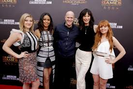 Red Carpet Entertainment Photos U0027hunger Games U0027 Cast Hit Red Carpet To Promote U0027collection