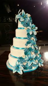 teal wedding more than 20 teal ombre wedding cake ideas bouquet wedding flower