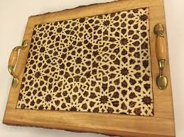 Coffee Table Tray by Decorative Tray Coffee Table Tray Coaster Tray Moroccan Design