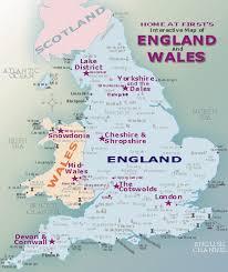 map uk harrogate wales map