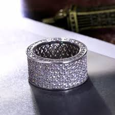 crystal pave rings images 2018 best classic design wedding band jewelry gold color cubic jpg