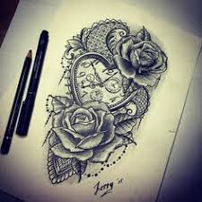 compass rose instead of a pocket watch tattoos u0026 henna