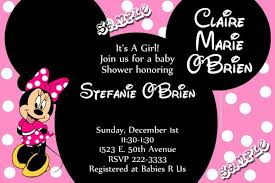minnie mouse baby shower invitations minnie mouse baby shower invitations get these invitations right