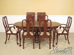 37725 37726e henkel harris cherry queen anne dining room table