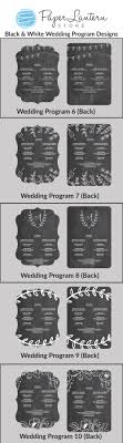 chalkboard program wedding personalized wedding program paddle fans with chalkboard color