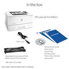 amazon com hp laserjet pro m402n monochrome printer c5f93a