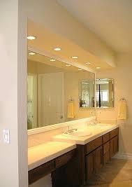 Recessed Lighting In Bathroom Neat Recessed Lighting For Bathrooms Parsmfg