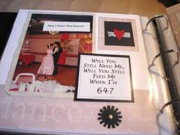 anniversary photo album scrapbook layout in anniversary album this layout is one p flickr