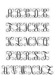 monogram letters wooden monogram initials monogram letters