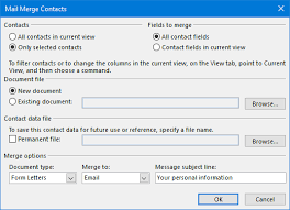 mail merge from excel mail merge automatically generate and send personalized emails