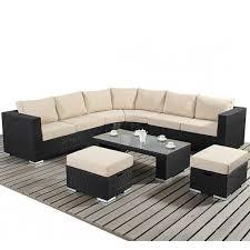 White Rattan Sofa Round Sofa Set Okaycreations Net