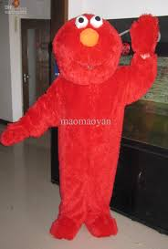 Elmo Halloween Costumes Red Elmo Halloween Cartoon Character Costume Mascot Custom