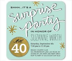 21 surprise birthday invitation templates u2013 free sample example