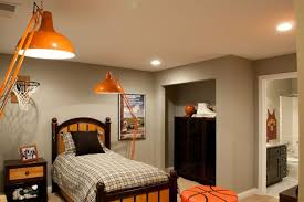 Basketball Bedroom Furniture by 14 Awesome Basketball Themed Rooms For Your Youngsters