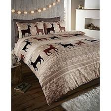 Brushed Cotton Duvet Cover Double Warm U0026 Cosy Soft Brushed Cotton Duvet Cover Sets Double Taupe