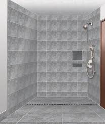 barrier free bathroom design barrier free shower design awaiting installation tiling