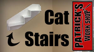 wall mounted cat stairs diy wall mounted cat shelf youtube