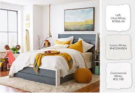 Bedroom Color Selection White Paint Color Selection Tips