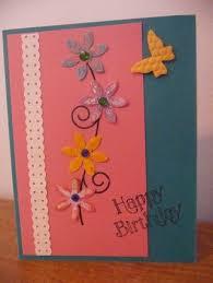 handmade birthday cards inkin with dink