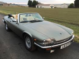 1988 jaguar xjs convertible being auctioned at barons auctions