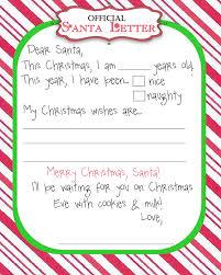 8 best images of printable santa letter paper free printable