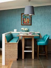 Teal Kitchen Chairs by Colorful Zest How To Add Retro Glam To Your Dining Room Retro