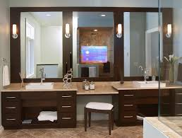 bathroom mirror cost well suited tv in bathroom mirror cost hotel embedded hidden with