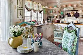 dining room gorgeous open kitchen ideas with shabby chic kitchen