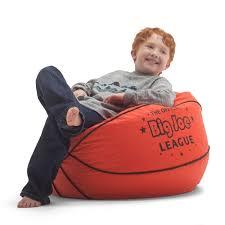 bean bag chair for kids boys girls big joe basketball waterproof