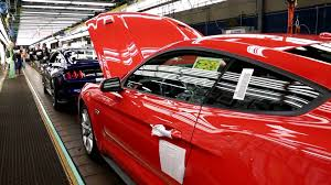 ford mustang assembly plant tour 2015 mustang assembly at ford s flat rock assembly plant