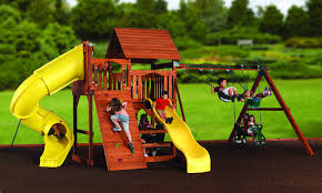 magellan explorer 4 swing set u0026 slide backyard discovery