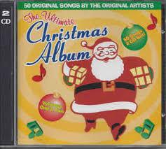 christmas cd various the ultimate christmas album volumes 1 2 cd album