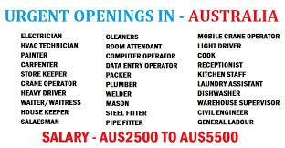 Resume For Computer Operator Job by Urgent Openings Australia Dubai Job Walkins