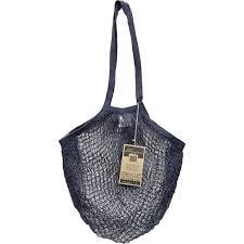 eco bags string tote bag long handle cotton assorted earthtones