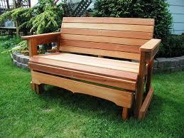 Lifetime Glider Bench Wood Garden Bench Costco Home Outdoor Decoration